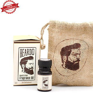 Beardo Beard Hair Fragrance Oil The Old Fashioned 10Ml