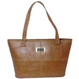 Belle Quadra Beige Handbag