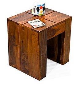 Sheesham Wood Cento Teak Side Table