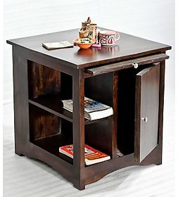 Sheesham Wood Latika Walnut Side Table