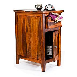 Sheesham Wood Canny Teak Side Table
