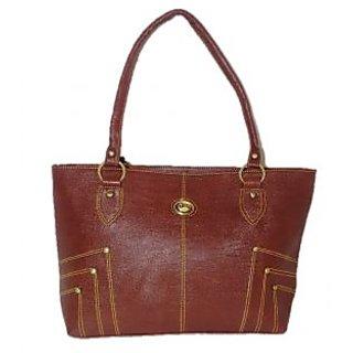 Belle Swan Brown Handbag