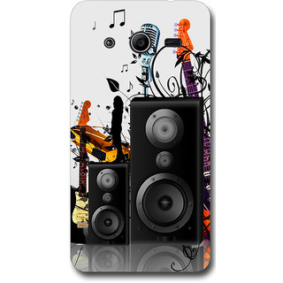 Cell First Designer Back Cover For Samsung Galaxy Core 2 G355H-Multi Color