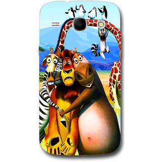 Cell First Designer Back Cover For Samsung Galaxy Core I8262-Multi Color