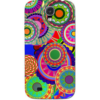 Cell First Designer Back Cover For Samsung Galaxy S4-Multi Color