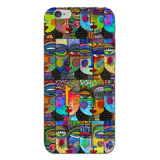 Cell First Designer Back Cover For Apple I Phone 6S-Multi Color