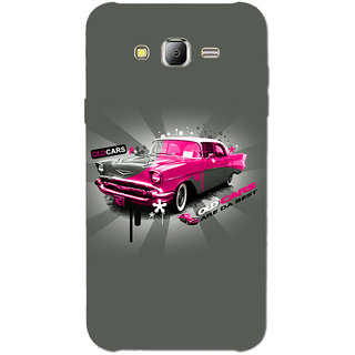 Cell First Designer Back Cover For Samsung Galaxy J7-Multi Color