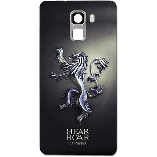 Cell First Designer Back Cover For Huawei Honor 7-Multi Color