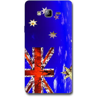 Cell First Designer Back Cover For Samsung Galaxy On7-Multi Color