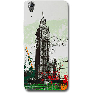 Cell First Designer Back Cover For Lenovo A6000 Plus-Multi Color