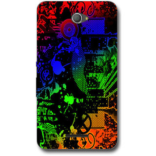 Cell First Designer Back Cover For Sony Xperia E4-Multi Color