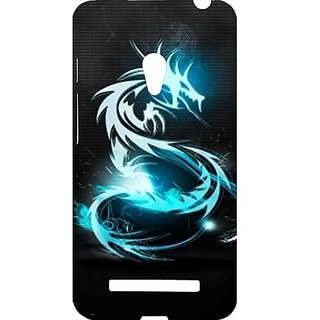 Casotec Dragon Classical Light Luster Surface Design Hard Back Case Cover for Asus Zenfone 5 A500CG