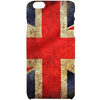 Casotec UK Flag Design Hard Back Case Cover for Apple iPhone 6 Plus