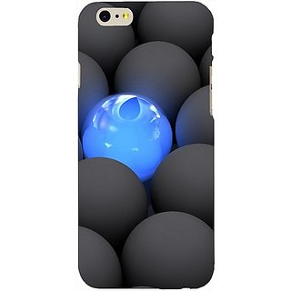 Casotec Balls Dark Neon Sight Surface Design Hard Back Case Cover for Apple iPhone 6 / 6S