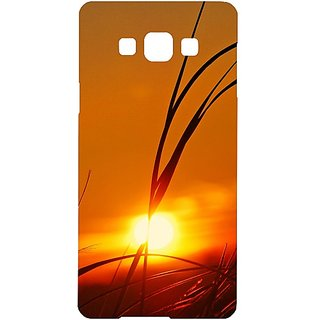 Casotec Moon View Design Hard Back Case Cover for Samsung Galaxy Grand 3