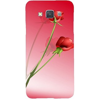Casotec Red Roses Design Hard Back Case Cover for Samsung Galaxy A5