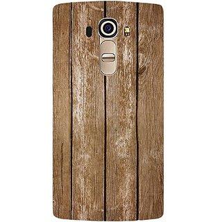 Casotec Wood Design Hard Back Case Cover For LG G4