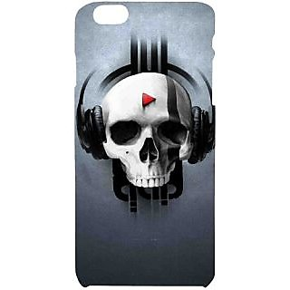 Casotec Rock the Music Pattern Print Design Hard Back Case Cover for Apple iPhone 6 Plus / 6S Plus