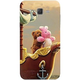 Casotec Funny Titanic Design Hard Back Case Cover for Samsung Galaxy J7
