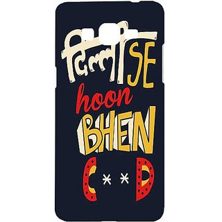 Casotec Delhi Design Hard Back Case Cover for Samsung Galaxy Grand Prime G530