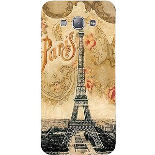 Casotec Vintage Paris Tower Design Hard Back Case Cover for Samsung Galaxy A8