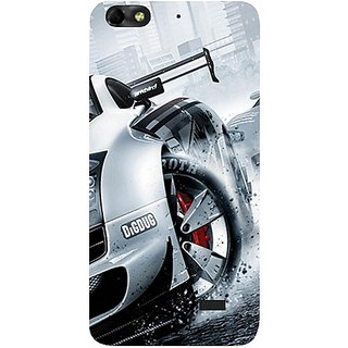 Casotec Drift Sport Print Design Hard Back Case Cover For Huawei Honor 4C