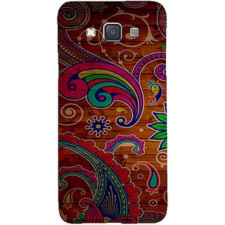 Casotec Wooden Pattern Design Hard Back Case Cover for Samsung Galaxy A5