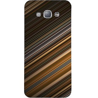Casotec Stripes Design Hard Back Case Cover for Samsung Galaxy A8