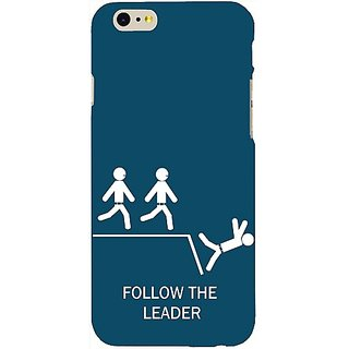 Casotec Follow The Leader Design Hard Back Case Cover for Apple iPhone 6 / 6S