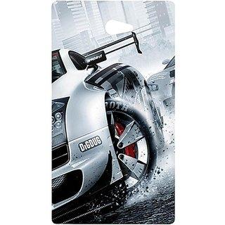 Casotec Drift Sport Print Design Hard Back Case Cover For Sony Xperia M2