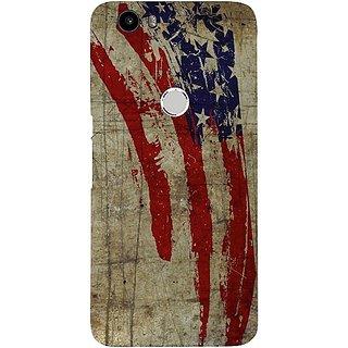 Casotec Vintage American Flag Design Hard Back Case Cover for Nexus 6P