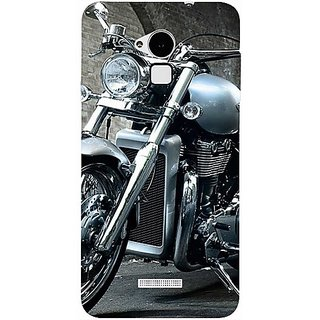 Casotec Motorcycle Design Hard Back Case Cover for Coolpad Note 3