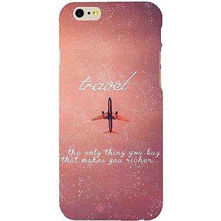 Casotec Travel Pattern Print Design Hard Back Case Cover for Apple iPhone 6 / 6S