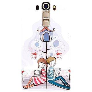 Casotec Love Letter Design Hard Back Case Cover for LG G4