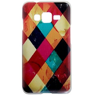 Casotec Clear Sides Print Design Hard Shell Back Case Cover for Samsung Galaxy Z1 gz269151