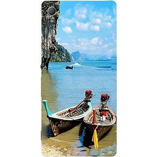 Casotec Sea View Design Hard Back Case Cover for Sony Xperia Z3 Plus / Z4