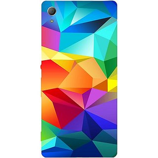 Casotec Colourfull Pattern Design Hard Back Case Cover for Sony Xperia Z3 Plus / Z4