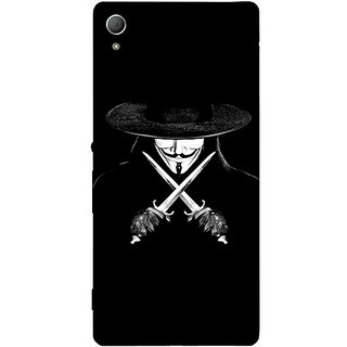 Casotec Kill Design Hard Back Case Cover for Sony Xperia Z3 Plus / Z4