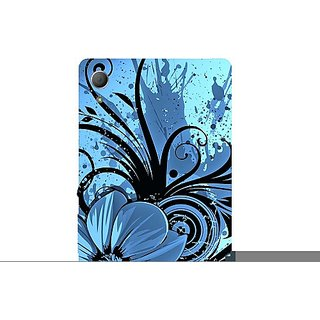 Casotec Cute Floral Blue Design Hard Back Case Cover for Sony Xperia Z3 Plus / Z4