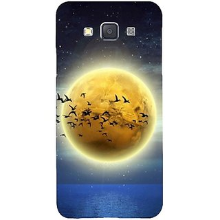 Casotec Moon View Design Hard Back Case Cover for Samsung Galaxy A3