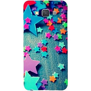 Casotec Colorful Stars Design Hard Back Case Cover for Samsung Galaxy A3
