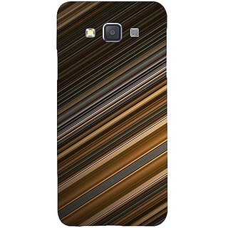 Casotec Stripes Design Hard Back Case Cover for Samsung Galaxy A3