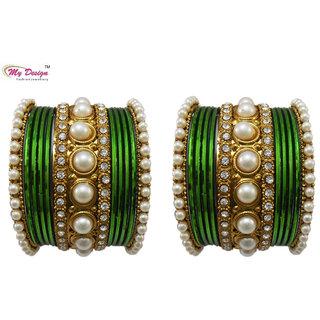 Bangles Chura Green Wedding Bangles Chuda By My Design