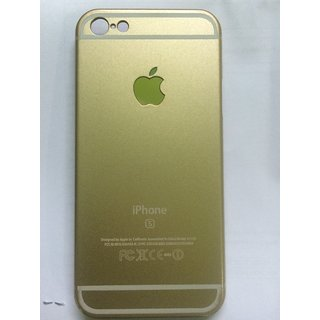 Iphone 5s Back Cover ( Gold )