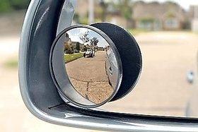 Blind Spot Mirror ROUND Wide Side View Car Rear View Mirror