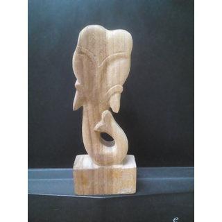 Hand Made Wooden Modern Ganesha - JANEU