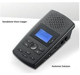 Landline Telephone Recorder Call Recorder Voice Logger 8GB Authentic ASA10