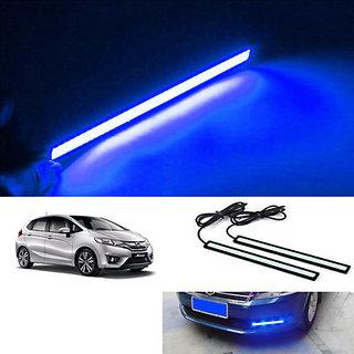 Car Waterproof Blue Cob LED Fog DRL Daytime Light 6000k HONDA JAZZ