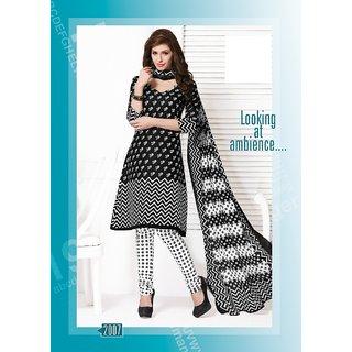 Kesar sarees Exclusive Designer Cotton Plain Fancy Dress Material