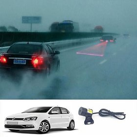 Red LED DRL Laser Fog Light (Reverse/Brake/Regular) for VOLKSWAGEN POLO